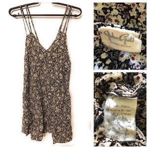 John Galt Brandy Melville Floral Mini Dress